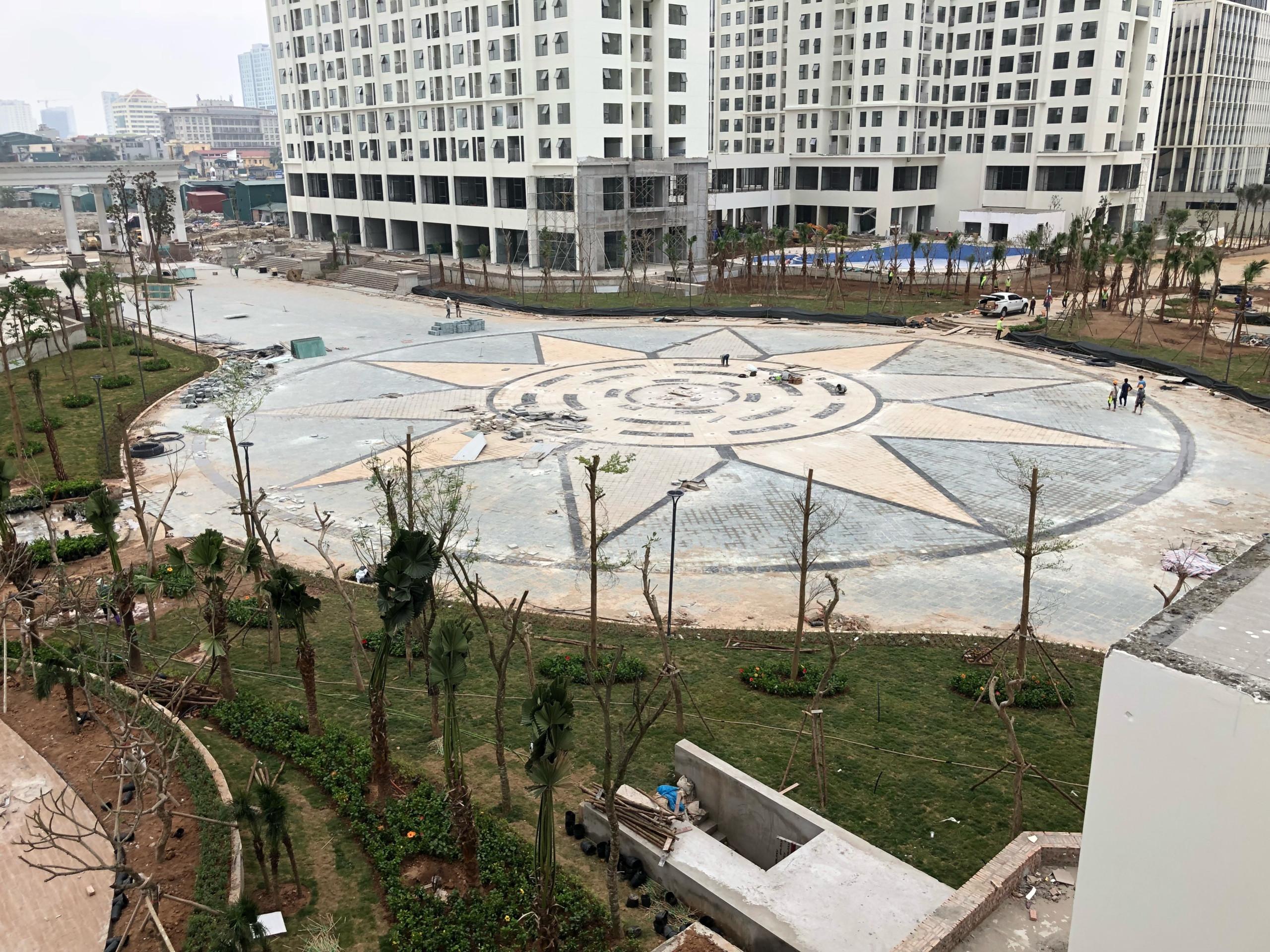Hình ảnh thực tế tầng 1 và 2 tại An Bình City - shophouse - lh 0987 065557